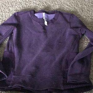 Lululemon sweatshirt.